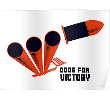 Code For Victory -- WWII Poster