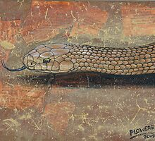 The Eastern Brown Snake by SnakeArtist