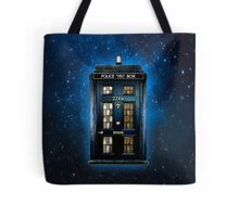 Space Traveller Box with 221b number Tote Bag