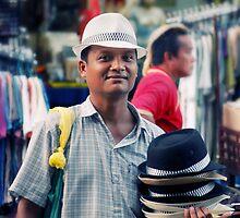 Hat Seller by Nicholas Richardson