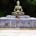 Starving Buddha Statue by exaltedshrimp