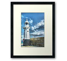 Lighthouse at Mevagissey Framed Print