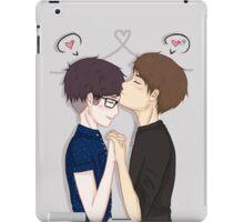 phan forehead kisses  iPad Case/Skin