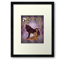 Tera West Framed Print