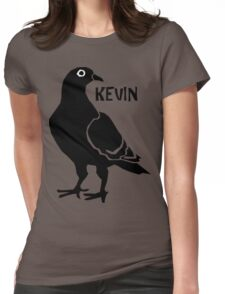 Kevin the Pigeon Womens Fitted T-Shirt
