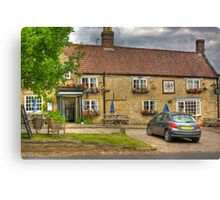 The Fauconberg Arms - Coxwold,North Yorkshire. Canvas Print