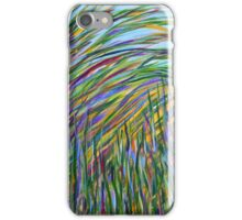 Seagrass- Study of Color, abstract art, home decor wall decor iPhone Case/Skin