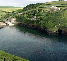 Port Quin Panorama by M G  Pettett