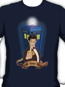 Time and Space Traveller with Banana T-Shirt