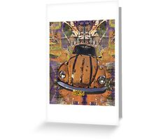VW Bug power Greeting Card