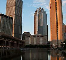 Boston Skyline by Ian Tilly
