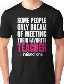 Proud Teacher Mom Unisex T-Shirt