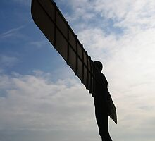 Angel of the North by Ian Tilly