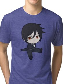 Black Butler: Sebastian Chibi Tri-blend T-Shirt