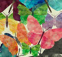 Paperback Butterflies  by mezzilicious