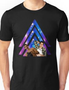 Black Dylan O'Brien Arrow Unisex T-Shirt