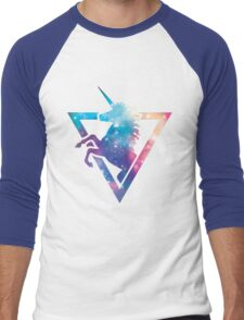 Galaxy Unicorn  Men's Baseball ¾ T-Shirt
