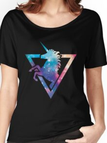 Galaxy Unicorn  Women's Relaxed Fit T-Shirt