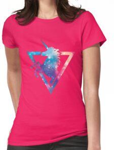 Galaxy Unicorn  Womens Fitted T-Shirt
