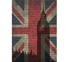 London-Typography Photographic Print