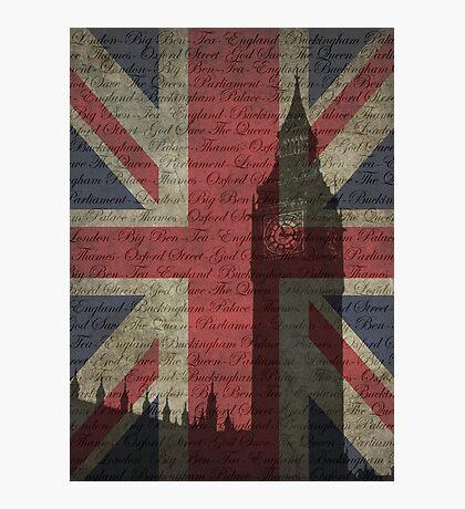 London-Typography Photographic Print