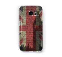 London-Typography Samsung Galaxy Case/Skin
