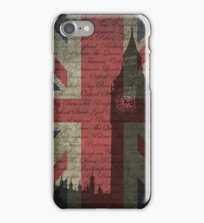 London-Typography iPhone Case/Skin
