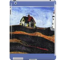 LightHouse (After E.Hopper) iPad Case/Skin
