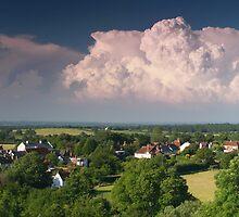 Turbulent cloud system by zumi