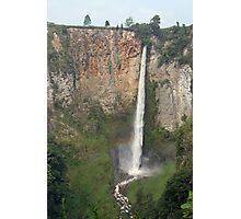 Indonesian Waterfall Photographic Print