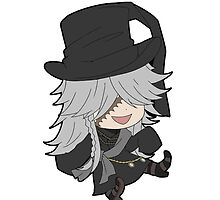 Black Butler Undertaker chibi by Chibify