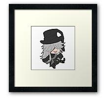 Black Butler Undertaker chibi Framed Print
