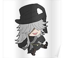 Black Butler Undertaker chibi Poster