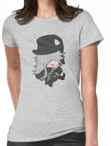 Black Butler Undertaker chibi Womens Fitted T-Shirt