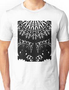Decorative Black Print Unisex T-Shirt