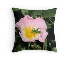 The Uninvited Guest Throw Pillow