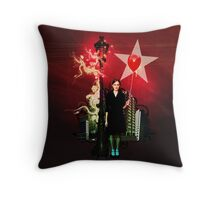 come to the light Throw Pillow