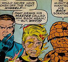 Fantastic Four Marvel Comics by greylock