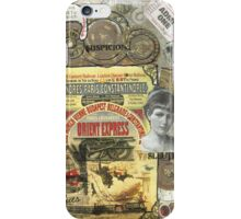 All Aboard!(The Orient Express) iPhone Case/Skin