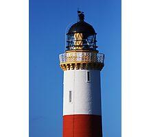 Tarbat Ness Lighthouse Top Photographic Print