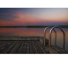 Morning Dock Photographic Print