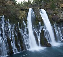 Burney Falls by Cathy L. Gregg