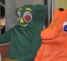 Gumby and Pokey Sticker
