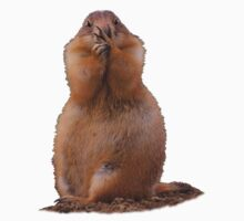 Prairie Dog with Funny Expression Kids Clothes