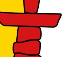 Flag of Nunavut  Sticker