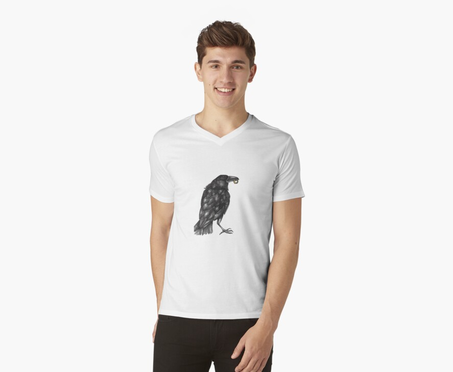 Ring of the Raven King Tee by Lynnette Shelley