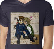 Valvert 01 Mens V-Neck T-Shirt
