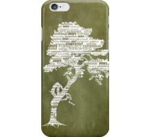 The Bodhi Tree of Awareness (White Version) iPhone Case/Skin