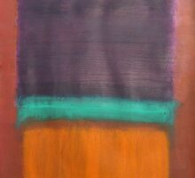 Violet, Orange and a Slice of Green by Brian Sommers