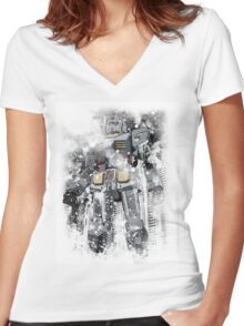 Fully Alive Women's Fitted V-Neck T-Shirt